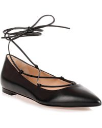 0431775f7ed2 Lyst - Women s Gianvito Rossi Ballet flats and pumps On Sale