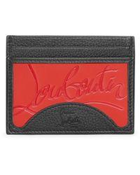 Christian Louboutin Kios Sneakers Card Holder - Black