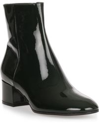 Gianvito Rossi - Rolling 45 Forest Green Patent Leather Boot - Lyst