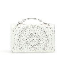 Alaïa - Franca Small White Bag - Lyst