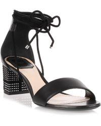Dior - Stellar 55 Black Leather Pump - Lyst