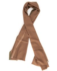 Fay Scarf Camelhair Wool - Brown