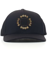 BOSS by Hugo Boss Circle Logo Cap - Black