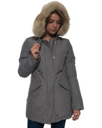 Woolrich American Coffee Polyester Luxury Arctic Parka - Grey