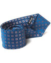 Kiton Tie Cornflower Blue Silk