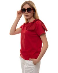 RED Valentino T-shirt Red Cotton