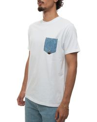 Roy Rogers T-shirt Short Sleeves White Cotton