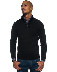 BOSS by Hugo Boss - Pullover With 4 Buttons - Lyst
