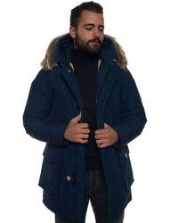 Woolrich Arctic Parka Df - Blue