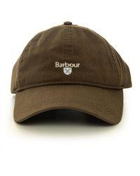 Barbour Berretto con visiera Verde Cotone