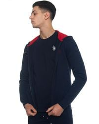 U.S. POLO ASSN. Sweatshirt With Hood - Blue
