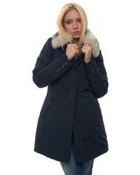 Peuterey Metropolitan Coat Blue Polyester