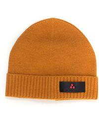 Peuterey Silli03 Rib Hat Mustard Viscose - Yellow