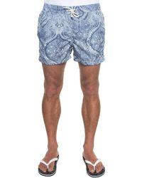 Vincenzo De Lauziers Boardshort - Blue
