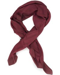 Guess Peony Kefiah Scarf Bordeau Modal - Red