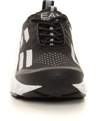 EA7 Sneakers in tela e pelle Sneakers Ultimate C2 Kombat Nero/bianco