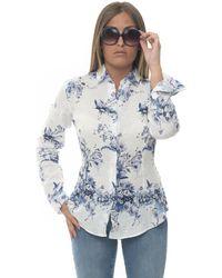 Vincenzo De Lauziers Amalfi Long-sleeved Linen Shirt White Linen