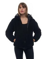 Ciesse Piumini Campos Hooded Harrington Jacket Black Polyester