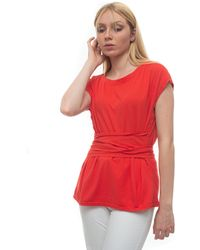 Pennyblack T-shirt RASENTE Corallo Cotone - Rosso