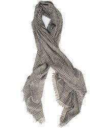 Pennyblack Sosia Scarf Nero-bianco Polyester - Multicolour