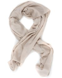Guess Peony Kefiah Scarf Carne Modal - Natural