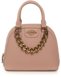 Love Moschino Borsa media Rosa Pvc