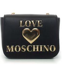Love Moschino Borsa piccola Nero Pvc