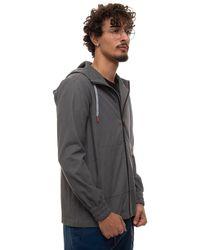 Kiton Sweatshirt With Zip Grey Cotton