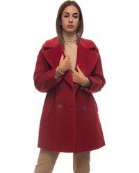 Pennyblack Angela Coat Red Virgin Wool