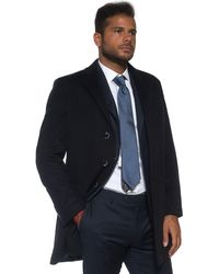 Angelo Nardelli Coat With 3 Buttons - Blue