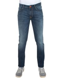 Pt05 5 Pocket Denim Jeans - Blue