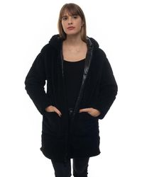 Ciesse Piumini Castilla Hooded Harrington Jacket Black Polyester