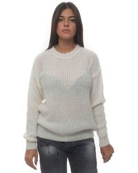 Roy Rogers Pullover White Acrylic