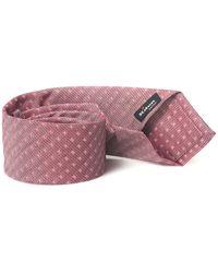 Kiton Tie Pink Linen