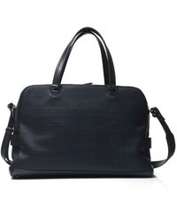 Ermenegildo Zegna Cabin baggage Blue Leather