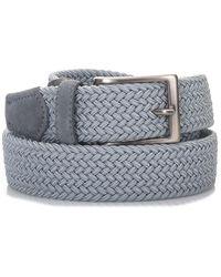 Angelo Nardelli Stretch Belt - Grey