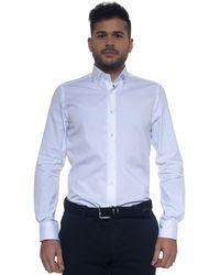 Carrel Camicia cotone manica lunga - Bianco