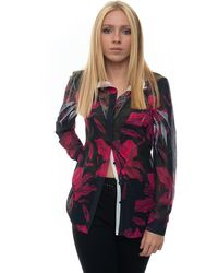 Guess Blouse Blu/fucsia Polyester - Multicolor