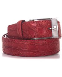 Kiton - Crocodile Belt - Lyst