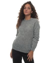 Roy Rogers Pullover Grey Acrylic