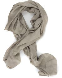Guess Peony Kefiah Scarf Taupe Modal - Natural