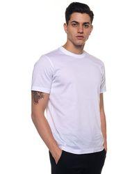 Andrea Fenzi T-shirt girocollo - Bianco