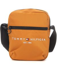 Tommy Hilfiger Borsello in tessuto unito Oro Poliestere - Metallizzato
