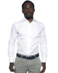 Carrel Dress Shirt - White