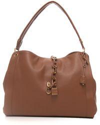 Liu Jo Regale Big-bag Leather Polyurethane - Brown