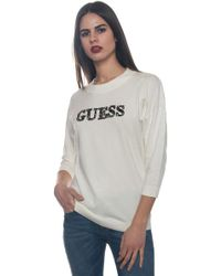 Guess - Round-necked Pullover - Lyst