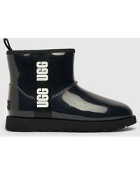 UGG Classic Clear Mini Boots - Black