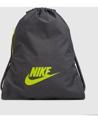 Nike Heritage 2.0 Gymsack - Grey