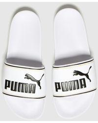 PUMA Leadcat Ftr Sandals - White