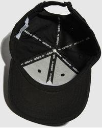 adidas Accessories Black & White Baseball Classic Trefoil